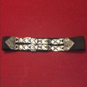 Express waist belt with elastic band